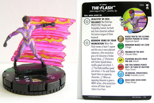 HeroClix - #032 The-Flash - DC Rebirth