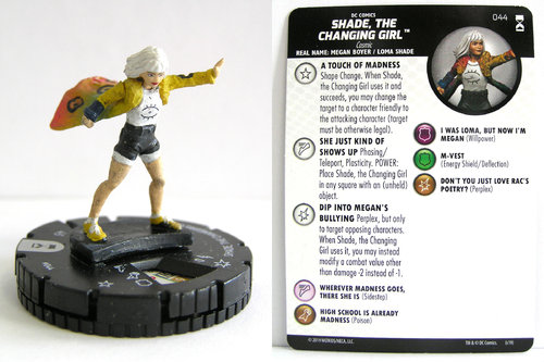 HeroClix - #044 Shade, the Changing Girl - DC Rebirth