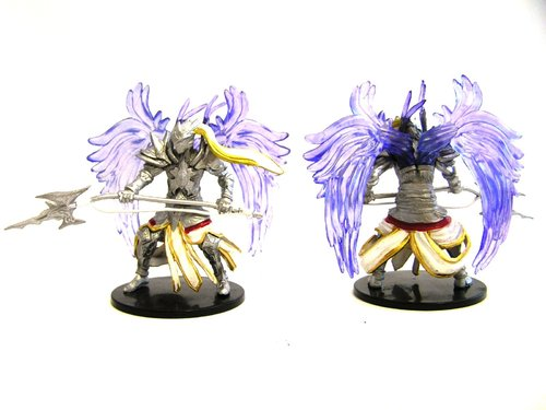 Pathfinder Battles - #041 Empyrean Angel Large Figure - Ruins of Lastwall