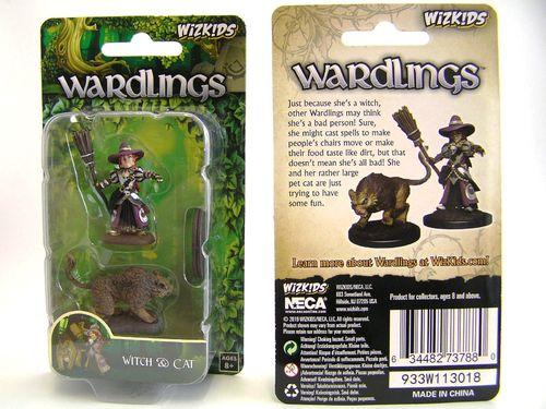 WZK73788 - Wizkids Wardlings Wave 3 - Witch & Cat
