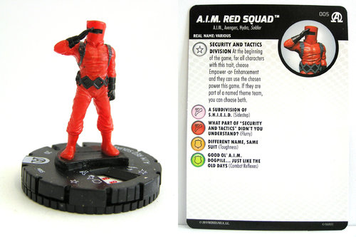 HeroClix - #005 A.I.M. Red Squad - Black Panther and the Illuminati