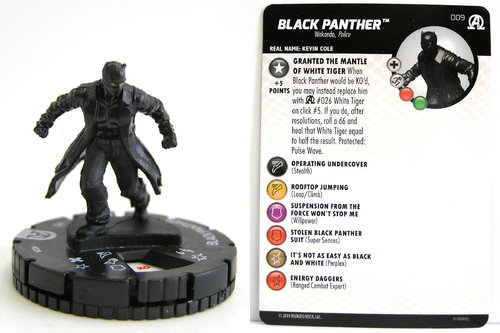 HeroClix - #009 Black Panther - Black Panther and the Illuminati