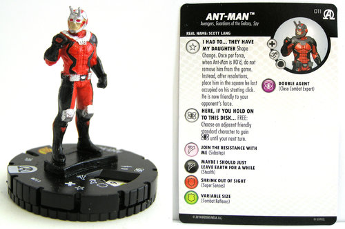 HeroClix - #011 Ant-Man - Black Panther and the Illuminati
