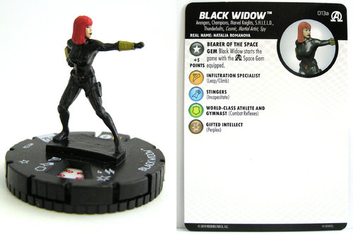 HeroClix - #013a Black Widow - Black Panther and the Illuminati