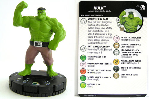 HeroClix - #014 Hulk - Black Panther and the Illuminati