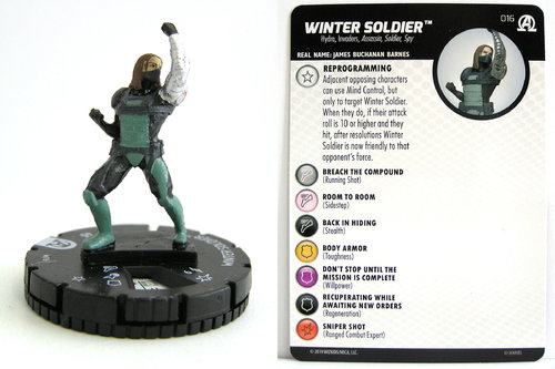 HeroClix - #016 Winter Soldier - Black Panther and the Illuminati