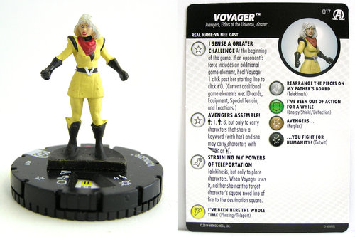 HeroClix - #017 Voyager - Black Panther and the Illuminati