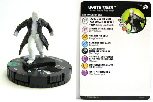 HeroClix - #026 White Tiger - Black Panther and the Illuminati