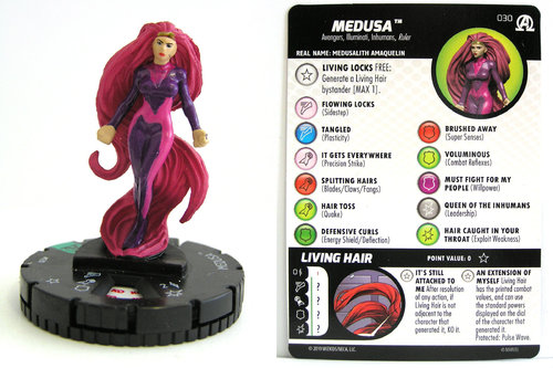 HeroClix - #030 Medusa - Black Panther and the Illuminati