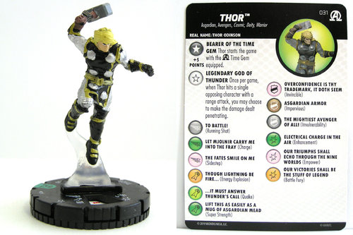 HeroClix - #031 Thor - Black Panther and the Illuminati
