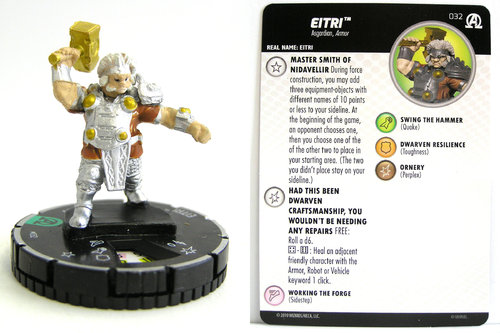 HeroClix - #032 Eitri - Black Panther and the Illuminati