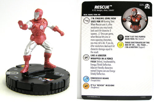 HeroClix - #035 Rescue - Black Panther and the Illuminati