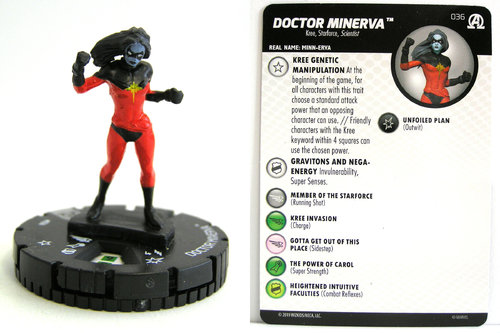 HeroClix - #036 Doctor Minerva - Black Panther and the Illuminati