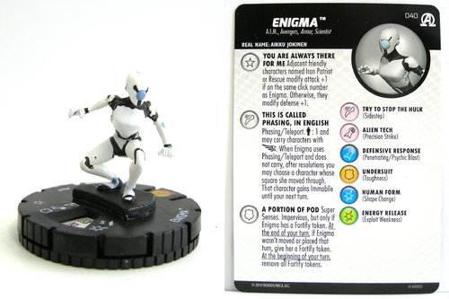 HeroClix - #040 Enigma - Black Panther and the Illuminati