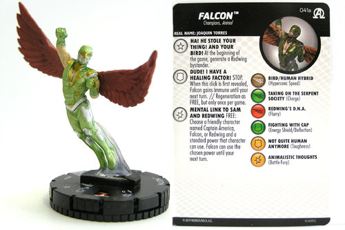 HeroClix - #041a Falcon - Black Panther and the Illuminati