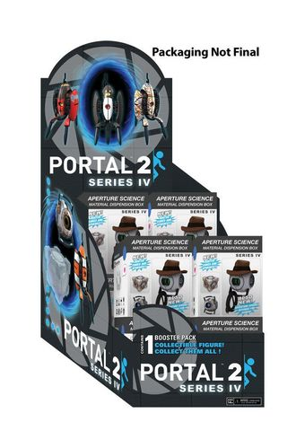 Portal 2: Series IV Collectible Figures Display (Inhalt: 12 Figuren)