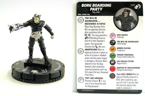 HeroClix - #020 Borg Boarding Party - Star Trek Resistance is Futile