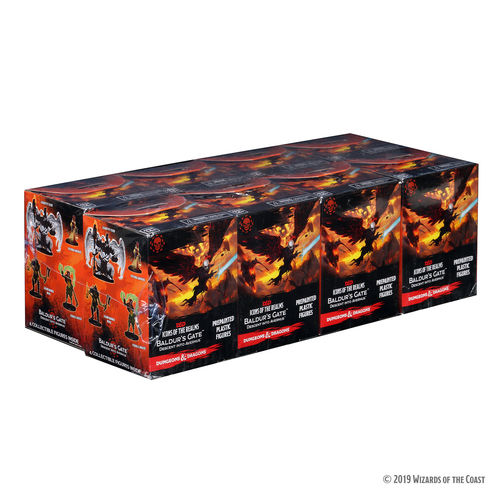 Dungeons&Dragons Icons of the Realms Set 12: Baldur's Gate: Descent into Avernus Booster Brick