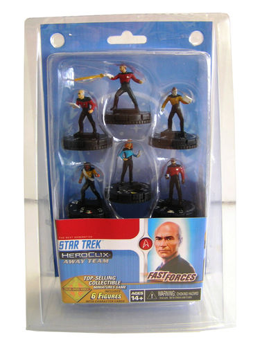 Heroclix Star Trek The Next Generation Resistance is Futile Fast Forces Pack