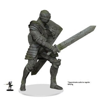 Dungeons&Dragons Icons of the Realms Walking Statue of Waterdeep - The Honorable Knight