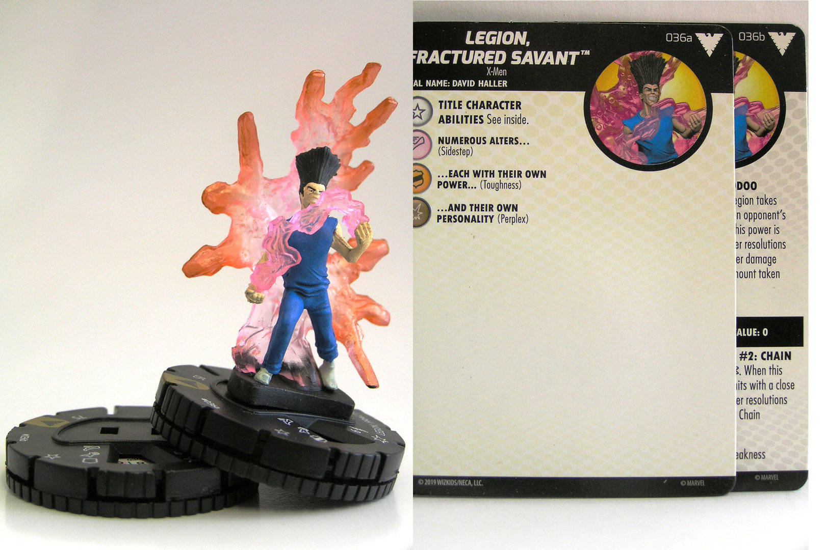 Heroclix X-Men Animated Series Dark Phoenix # 036 A B Legion Fractured Savant