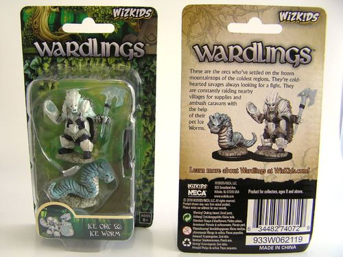 WZK74072 - Wizkids Wardlings Wave 4 - Ice Orc & Ice Worm