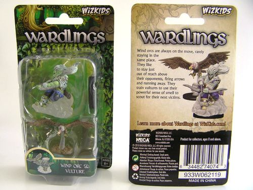 WZK74074 - Wizkids Wardlings Wave 4 - Wind Orc & Vulture