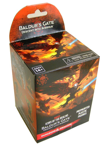 Dungeons&Dragons Icons of the Realms Set 12: Baldur's Gate: Descent into Avernus Booster Pack