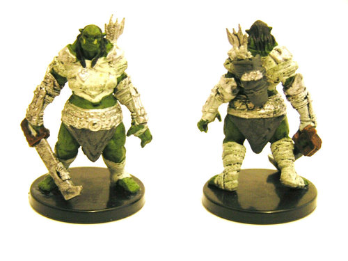 Pathfinder Battles - #004 Orc Battler - Legendary Adventures