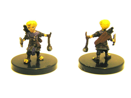 Pathfinder Battles - #008 Halfling Slinger - Legendary Adventures