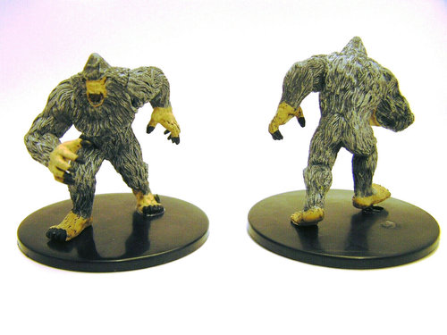 Pathfinder Battles - #027 Yeti Large Figure - Legendary Adventures