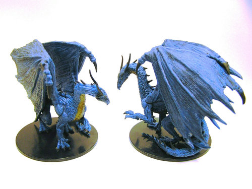 Pathfinder Battles - #043 Huge Blue Dragon Large Figure - Legendary Adventures