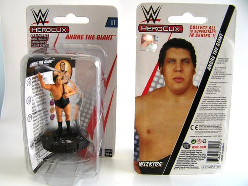 WZK73912 - HeroClix - Andre the Giant Expansion Pack - WWE Series 1
