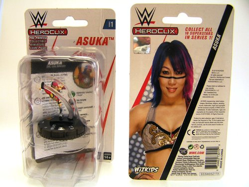 WZK73915 - HeroClix - Asuka Expansion Pack - WWE Series 1