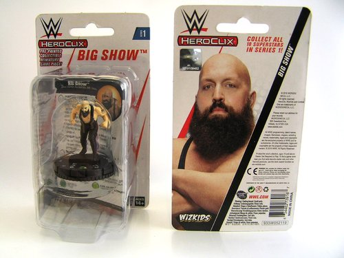 WZK73916 - HeroClix - Big Show Expansion Pack - WWE Series 1