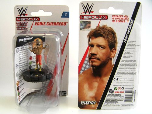 WZK73901 - HeroClix - Eddie Guerrero Expansion Pack - WWE Series 1