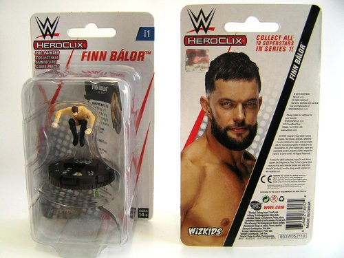 WZK73917 - HeroClix - Finn Balor Expansion Pack - WWE Series 1