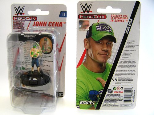 WZK73894 - HeroClix - John Cena Expansion Pack - WWE Series 1