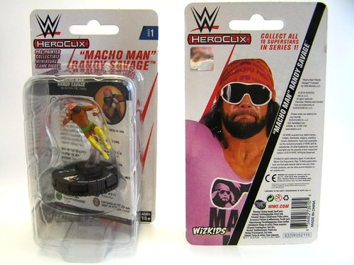 WZK73910 - HeroClix - Macho Man Randy Savage Expansion Pack - WWE Series 1