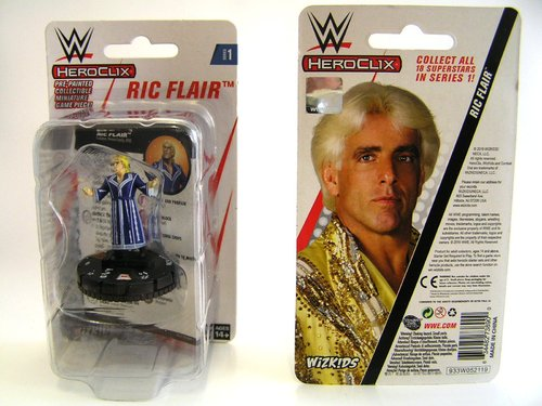 WZK73890 - HeroClix - Ric Flair Expansion Pack - WWE Series 1
