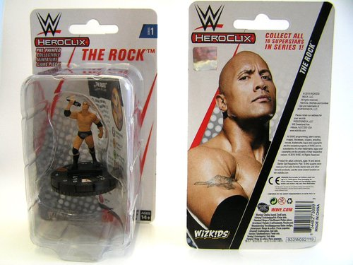 WZK73899 - HeroClix - The Rock Expansion Pack - WWE Series 1