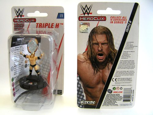 WZK73888 - HeroClix - Triple H Expansion Pack - WWE Series 1
