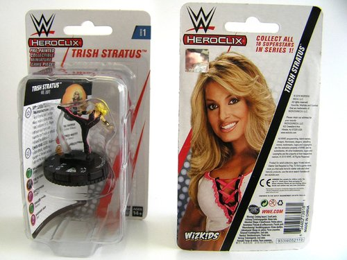 WZK73918 - HeroClix - Trish Stratus Expansion Pack - WWE Series 1