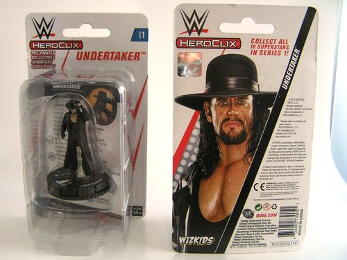 WZK73905 - HeroClix - Undertaker Expansion Pack - WWE Series 1