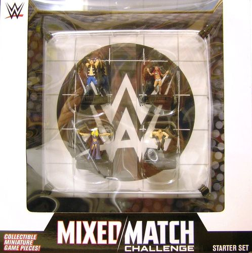 WZK73773 - HeroClix - Mixed Match Challenge WWE Ring 2-Player Starter Set - WWE Series 1