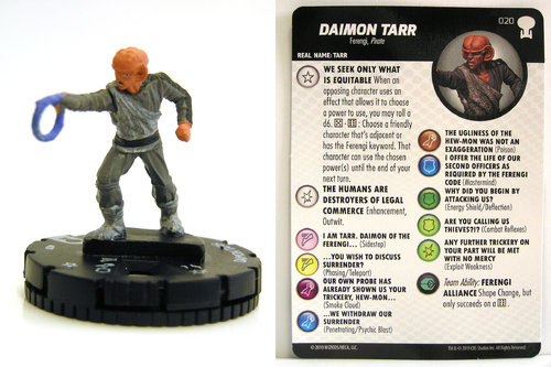 HeroClix - #020 Daimon Tarr - Star Trek To Boldly Go