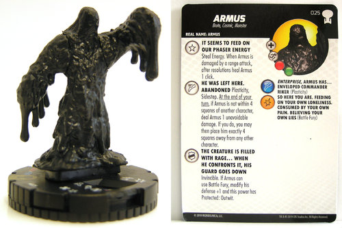 HeroClix - #025 Armus - Star Trek To Boldly Go