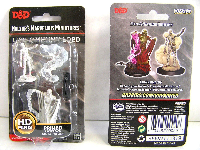 WZK90021 Unpainted Miniatures Wight /& Ghast D/&D Nolzur/'s Marvelous
