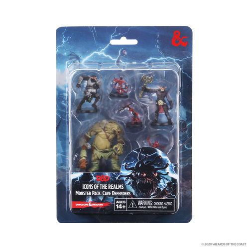 Dungeons&Dragons Icons of the Realms Monster Pack: Cave Defenders WZK96015
