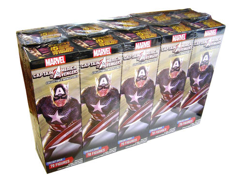 HeroClix Captain America and the Avengers Booster Brick